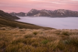 Mount Titiroa at twilight, Fiordland