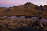 Twilight tarns, Mount Titiroa, Fiordland