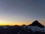 Mount Talbot, dusk