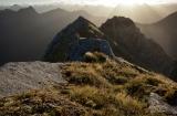 Cameron Mountains at dawn