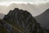Cameron Mountains in dawn light