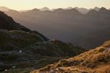 Nameless western peaks