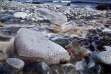 Creek and boulders, Preservation Inlet