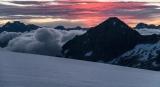 Mt Alice and Mt Earnslaw, dawn