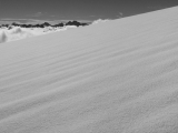 Snowfield and main Divide