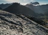 Towards Mt Crowfoot