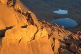 Lakes below Red Mountain, sunrise