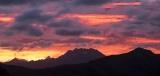 Olivine Range skyline, dawn