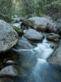 Granite boulders and creek