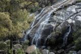 Falls over granite