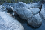 Creek and granite boulders