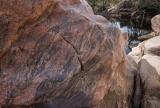 Banded granite, Mawson Plateau