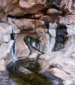 Water seeps