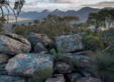 Rocks and bush, Heysen Range