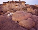 Ironstone forms, pre-dawn twilight