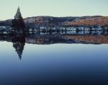 Winter dawn, Lake Windermere