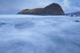 Swirling sea, Lion Rock, dawn