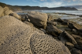 Weathered sandstone and South East Cape
