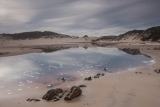 Big Beach lagoon