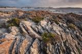 Sunset and strata, Nye Bay
