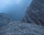 Fog, dusk, pagodas