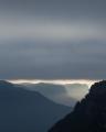 Greay dawn, Wolgan Valley