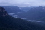 Blue dawn, Govett Gorge