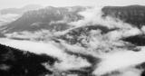 Lingering clouds, Govett Gorge