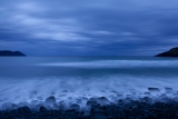 Headlands at dusk, South Coast