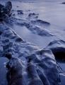 Tidewater rocks, evening