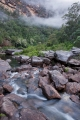 Wollangambe River and rain