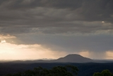 Evening storm, Mount Yengo